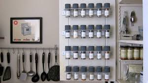 Cabinet Door Mounted Spice Rack Organization Is The Spice Of Marthaandtom