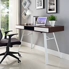modway stir office computer or writing desk multiple colors
