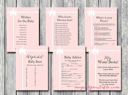 baby showergames printable baby shower page 2 magical printable