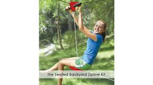 the seated backyard zipline kit youtube