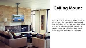 ceiling mount tv sbcm46a12 amazoncom mountit milcdcm kitchen