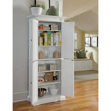Kitchen Pantry Cabinet Furniture by Home Styles Americana White Pantry Hayneedle