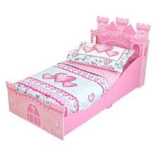 kidkraft princess castle toddler bed toys