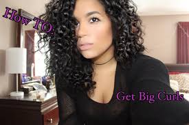 easy curling wand for permed hair how to get big curls without perm youtube