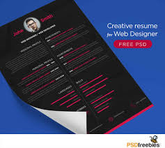 Creative Resume Free Templates 100 Creative Design Resume Templates Free 85 Cool Design