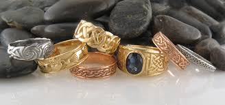 celtic gold rings images Celtic rings in sterling silver and 14k gold tagged quot gold celtic jpg