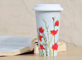 ceramic travel mug 20 oz ceramic mug with lid instavite me o