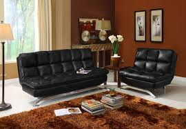 Leather Couch Futon Futon Faux Leather Roselawnlutheran