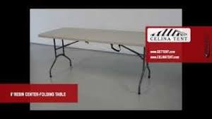 cosco 6 centerfold table cheap cosco 6 centerfold blow molded folding table in black only