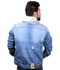 Rugged Wear Clothing Agile Rugged Wear Light Blue Vintage Wash Denim Jacket With