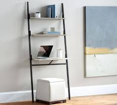 crate and barrel ladder desk bookcases leaning desk and bookcase leaning bookshelf desk leaning