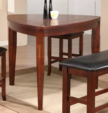 dining tables triangle counter height dining set triangle wood