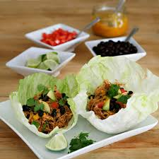 Backyard Tacos I Is For Iceberg Lettuce Tacos With Slow Cooked Shredded Chicken