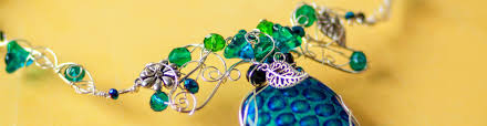 How To Make Jewelry From Sea Glass - how to wire wrap beach glass the easy way u2013 gayle bird designs