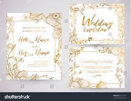 cute spring summer template wedding valentines stock vector