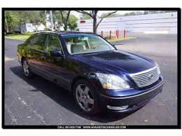 lexus for sale fl 2005 lexus ls430 for sale classiccars com cc 1005260