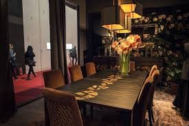 Luxury Dining - luxurious dining room ideas with classic cabinet and dining table