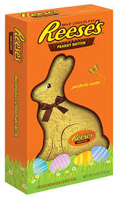 easter chocolate bunny reese s easter milk chocolate covered peanut butter