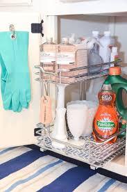 accessories under sink kitchen organizer how to organize under