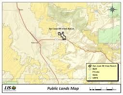 Montrose Colorado Map san juan mountain ranch colorado ranch real estate for sale