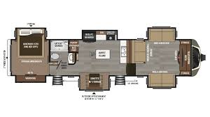 2 Bedroom Travel Trailer Floor Plans Montana Rv New U0026 Used Rvs For Sale Lakeshore Rv