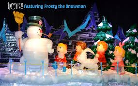 ice gaylord palms featuring frosty snowman