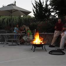 pit fires amazon com cobraco contemporary round fire pit fbcicont s