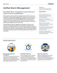 Security Desk Genetec En Feature Notes Unified Alarm Management