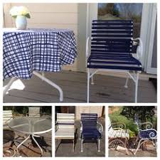replace vinyl strap on patio furniture home repairs pinterest