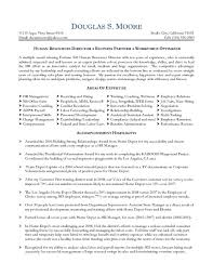Human Resource Sample Resume by Resume Templates For Human Resources Generalist