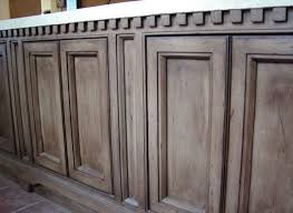 rustoleum weathered gray stain on knotty alder cabinets so to