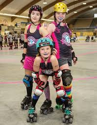 meet the skaters of the new hshire junior roller derby