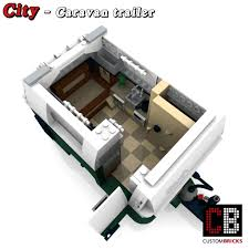 lego mini cooper instructions custombricks de lego custom moc city caravan trailer wohnwagen