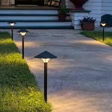 led light design wonderful led pathway lights landscape lighting