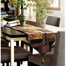 table runner for coffee table handmade 100 cream cotton coffee flower table runner 110 30 cm
