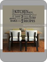 Wall Stickers For Kitchen by 84 Best Kitchen Wall Decals Images On Pinterest Kitchen Walls