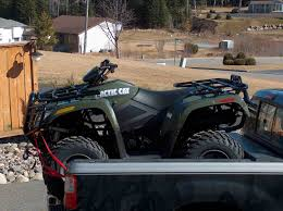 haulin quad in 6 5 ft bed arcticchat com arctic cat forum