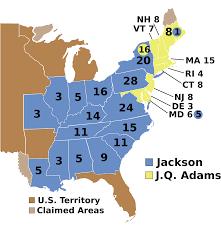 Create Electoral Map Origins Of The Electoral College