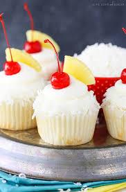 pina colada cupcakes life love and sugar