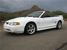 1998 convertible mustang 1998 ford mustang cobra convertible 161914