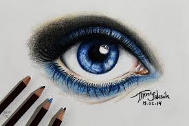 drawn eye pretty eye pencil and in color drawn eye pretty eye