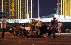 las vegas gunman shot security guard a full six minutes before