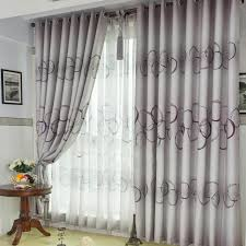 Cheap Grey Curtains Timeless Polka Dots Jacquard Grey Curtains With Fiber Buy Grey