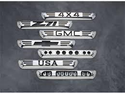 silverado third brake light cover ami billet third brake light covers shop realtruck