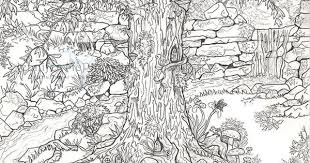 fairies garden colouring pages 16271 bestofcoloring