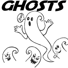 draw ghosts easy step step drawing lesson