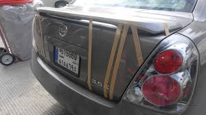 nissan altima coupe with spoiler spoiler installation on nissan altima 3 youtube