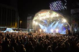 blackpool illuminations switch on night in 2014 with peter kay