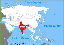 New Delhi India Map by India Location On The Asia Map