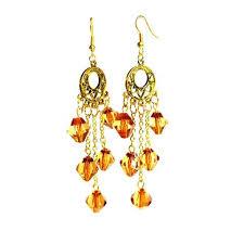 Long Chandelier Earrings Dangle Earrings Earring Collection U2013 Mystic Trinket Shop